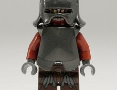 Lego Minifigura - Uruk-hai - Helmet and Armor