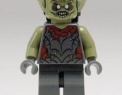 Lego Minifigura - Moria Orc - Olive Green