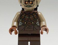 Lego Minifigura - Mordor Orc - Dark Tan