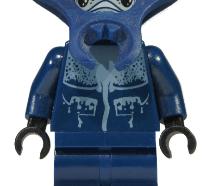 Lego minifigura - Atlantis Manta Warrior