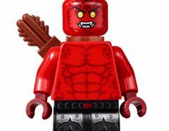 Lego minifigura - Crust Smasher