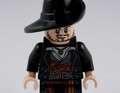 Lego minifigura - Hector Barbossa
