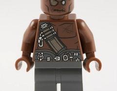 Lego minifigura - Gunner Zombie