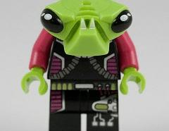 Lego Minifigura - Alien Pilot