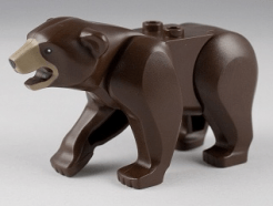 Lego Minifigura - Bear with 2 Studs on Back