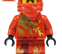 Lego Minifigura - Kai DX - Dragon Suit
