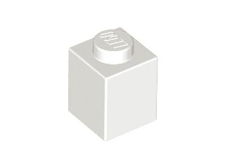 Lego alkatrész - White Brick 1x1