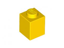 Lego alkatrész - Yellow Brick 1x1