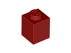 Lego alkatrész - Dark Red Brick 1x1