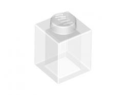 Lego alkatrész - Trans-Clear Brick 1x1