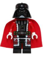 Lego Minifigura - Santa Darth Vader