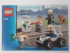 Lego City - Összeszerelési útmutató 7279