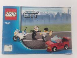 Lego City - Összeszerelési útmutató 7288-1