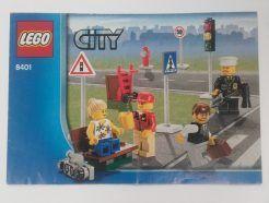 Lego City - Összeszerelési útmutató 8401