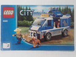 Lego City – Összeszerelési útmutató 4441-2