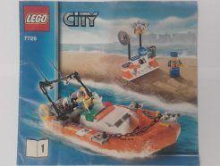 Lego City – Összeszerelési útmutató 7726-1