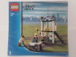 Lego City – Összeszerelési útmutató 7743-1