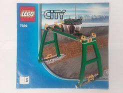 Lego City – Összeszerelési útmutató 7939-5