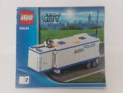 Lego City – Összeszerelési útmutató 60044-2