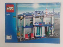 Lego City – Összeszerelési útmutató 3182-3