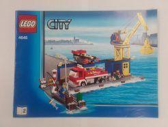 Lego City – Összeszerelési útmutató 4645-2