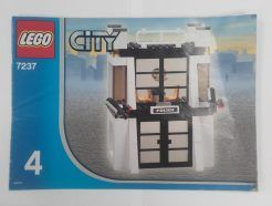 Lego City – Összeszerelési útmutató 7237-4