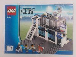 Lego City – Összeszerelési útmutató 7498-3