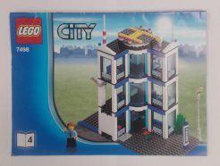 Lego City – Összeszerelési útmutató 7498-4