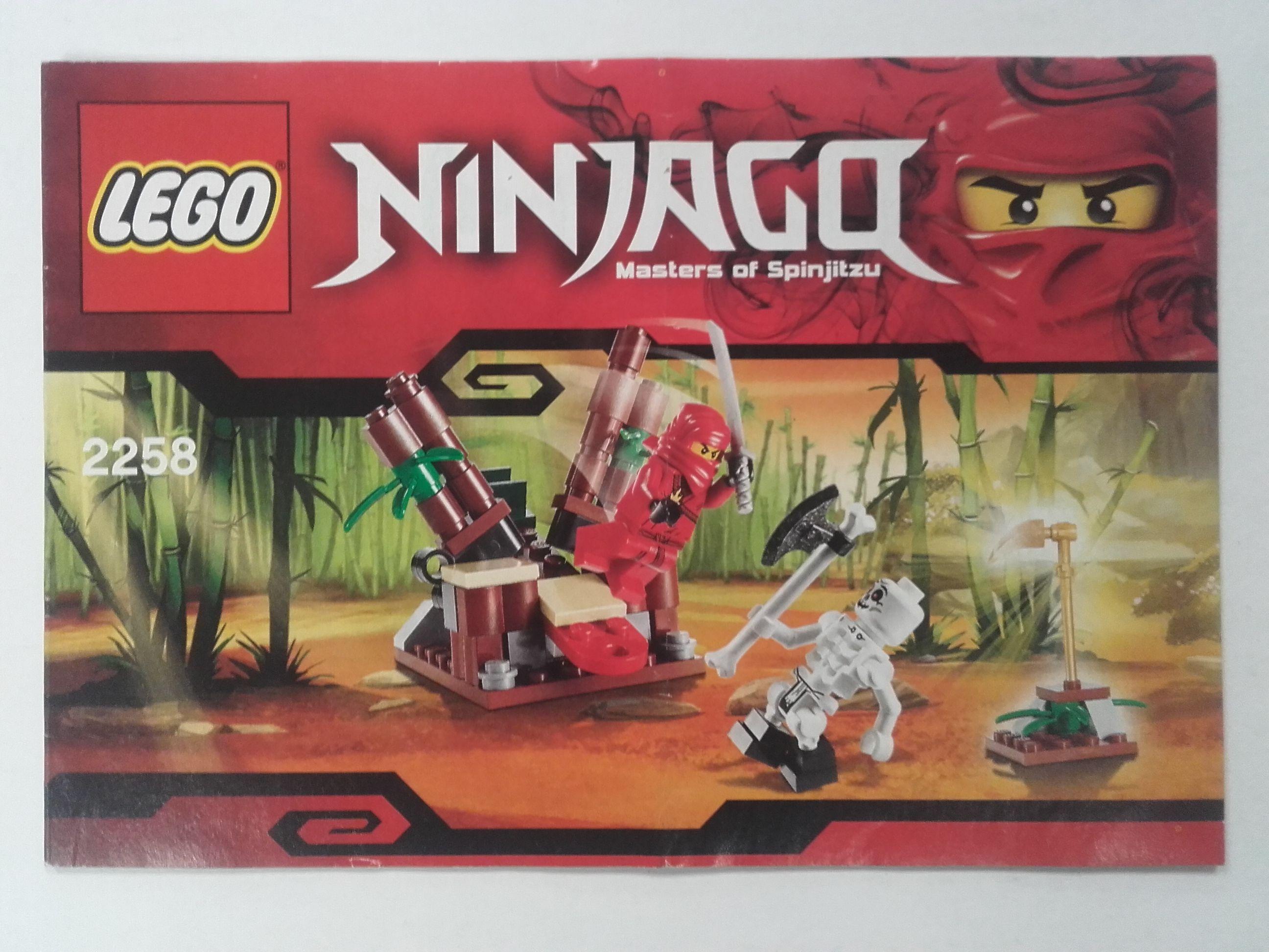 Lego Ninjago – Összeszerelési útmutató 2258