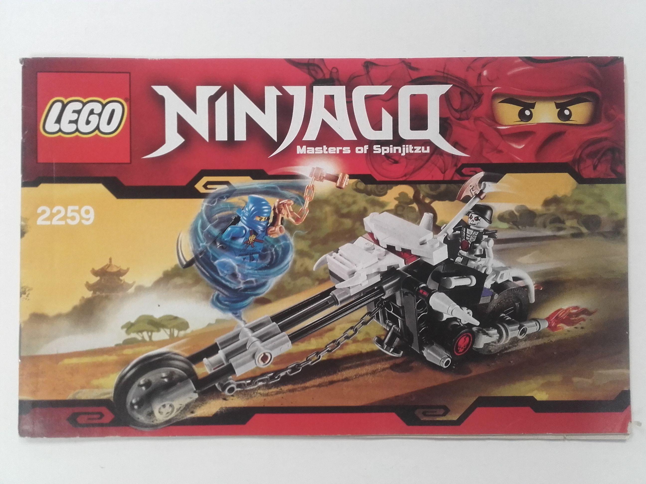 Lego Ninjago – Összeszerelési útmutató 2259
