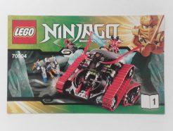 Lego Ninjago – Összeszerelési útmutató 70504-1