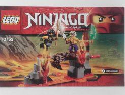 Lego Ninjago – Összeszerelési útmutató 70753