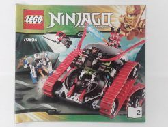Lego Ninjago – Összeszerelési útmutató 70504-2