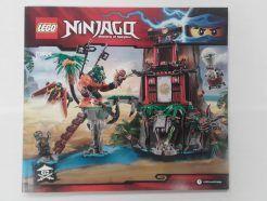 Lego Ninjago – Összeszerelési útmutató 70604