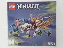 Lego Ninjago – Összeszerelési útmutató 70734-1