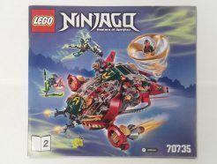 Lego Ninjago – Összeszerelési útmutató 70735-2