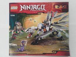 Lego Ninjago – Összeszerelési útmutató 70748
