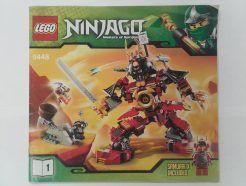Lego Ninjago – Összeszerelési útmutató 9448-1