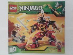 Lego Ninjago – Összeszerelési útmutató 9448-2