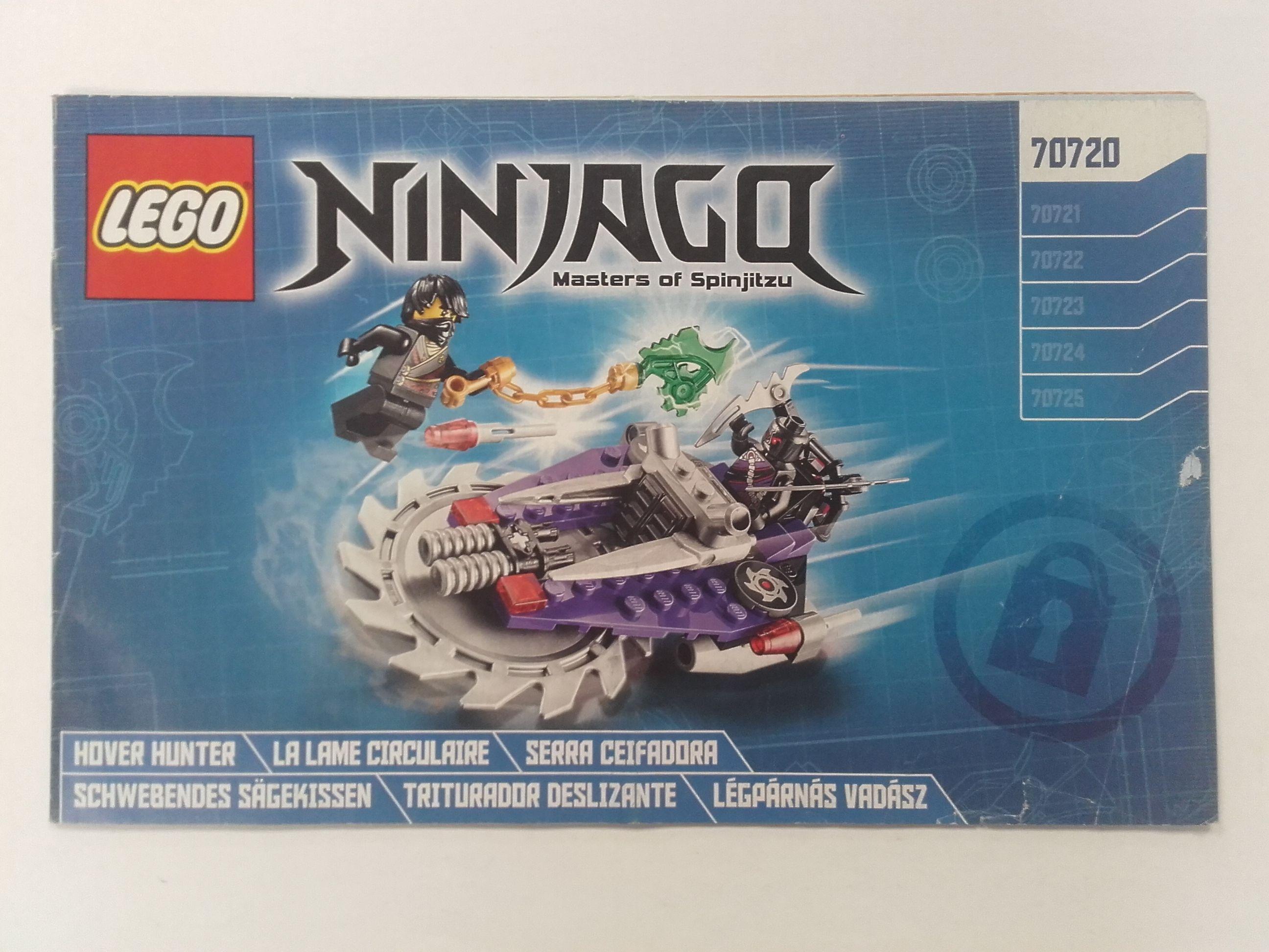 Lego Ninjago – Összeszerelési útmutató 70720