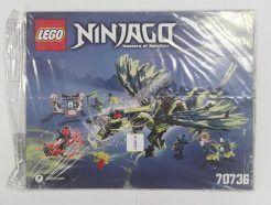 Lego Ninjago – Összeszerelési útmutató 70736