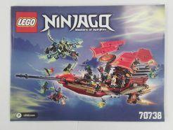 Lego Ninjago – Összeszerelési útmutató 70738