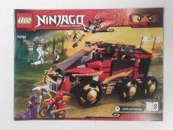 Lego Ninjago – Összeszerelési útmutató 70750-2