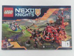 Lego Nexo Knights – Összeszerelési útmutató 70316-1