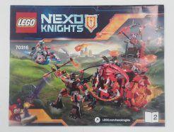 Lego Nexo Knights – Összeszerelési útmutató 70316-2