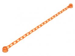 Lego alkatrész - Trans-Orange Chain, 21 Links