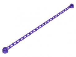 Lego alkatrész - Trans-Purple Chain, 21 Links