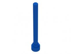 Lego alkatrész - Blue Antenna 1x4-Flat Top