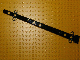 Lego alkatrész - Black Boat Mast 2x2x20 with Holes - Side Aligned x shape Axle Hole