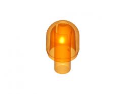 Lego alkatrész- Trans-Orange Light Cover with Internal Bar / Bionicle Barraki Eye